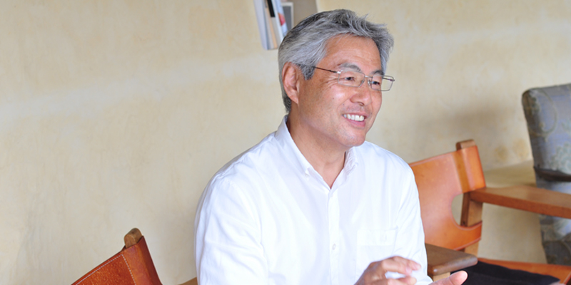 Junichi Ueno - Owner of Teien no Yado Sekitei